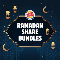 Restaurants offers in the Burger King catalogue ( 2 days left )