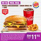 Restaurants offers in the Burger King catalogue in Kuala Lumpur ( 25 days left )