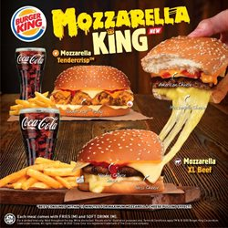 Restaurants offers in Burger King catalogue ( More than a month)