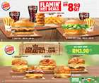 Restaurants offers in the Burger King catalogue in Petaling Jaya ( 25 days left )