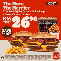 Restaurants offers in Burger King catalogue ( 1 day ago)