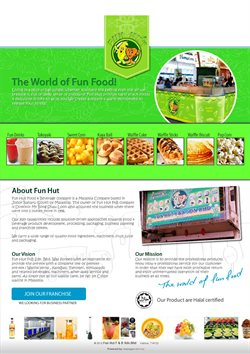Offers from Fun Hut Cafe in the Johor Bahru leaflet
