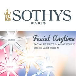 Offers from Sothys in the Seremban leaflet