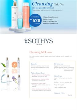 Offers from Sothys in the Kuala Lumpur leaflet