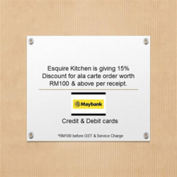 Offers from Esquire Kitchen in the Kuala Lumpur leaflet