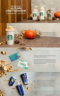 Offers from Starbucks in the Penang leaflet