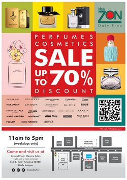Perfume & Beauty offers in ZON Duty Free catalogue ( 14 days left)