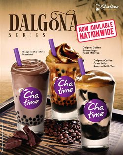 Restaurants offers in the Chatime catalogue in Ipoh ( 2 days ago )