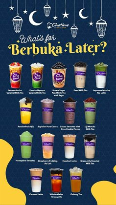 Chatime catalogue ( 12 days left)