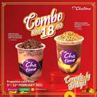 Chatime catalogue ( Expired )