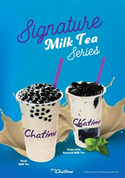 Restaurants offers in the Chatime catalogue in Kangar ( More than a month )