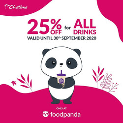 Chatime coupon ( 5 days left )