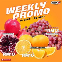 MBG Fruit Shop catalogue ( Expires today )