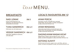 Offers from The Loaf Bakery & Bistro in the Kuala Lumpur leaflet