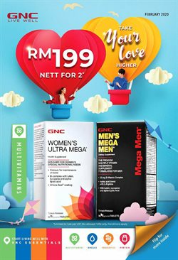 GNC LiveWell catalogue in Ipoh ( 6 days left )