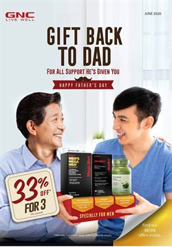 GNC LiveWell catalogue ( 25 days left )