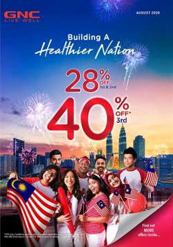 Sport offers in the GNC LiveWell catalogue in Seremban ( 16 days left )