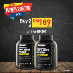 Offers from GNC LiveWell in the Kuala Lumpur leaflet