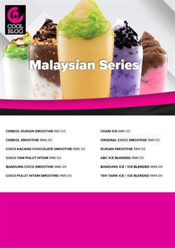 Offers from Coolblog in the Johor Bahru leaflet