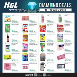 Offers from H&L Supermarket in the Kota Kinabalu leaflet