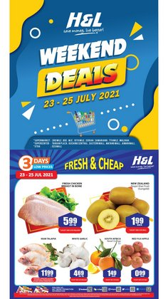 H&L Supermarket offers in H&L Supermarket catalogue ( Expires tomorrow)