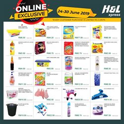 Supermarkets offers in the H&L Supermarket catalogue in Petaling Jaya