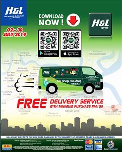 Offers from H&L Supermarket in the Kuching leaflet