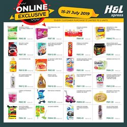 Supermarkets offers in the H&L Supermarket catalogue in Johor Bahru