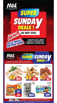 H&L Supermarket offers in H&L Supermarket catalogue ( Published today)