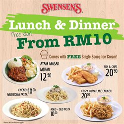 Swensens offers in Swensens catalogue ( Expired)
