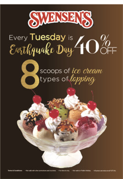Offers from Swensens in the Kuala Lumpur leaflet