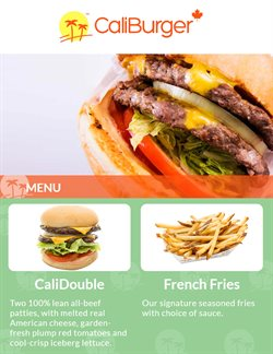 Offers from CaliBurger in the Kuala Lumpur leaflet