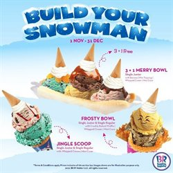 Offers from Baskin Robbins in the Penang leaflet