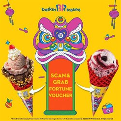 Offers from Baskin Robbins in the Kuala Lumpur leaflet