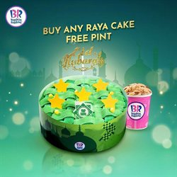 Baskin Robbins catalogue ( Expires today )