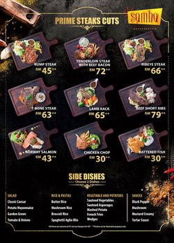 Samba Steakhouse offers in Samba Steakhouse catalogue ( More than a month)
