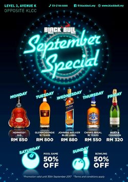Offers from Black Bull in the Kuala Lumpur leaflet