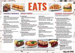 Restaurants offers in Hard Rock Cafe catalogue ( More than a month)