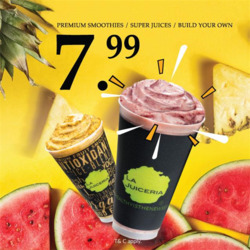 Offers from La Juiceria in the Kuala Lumpur leaflet