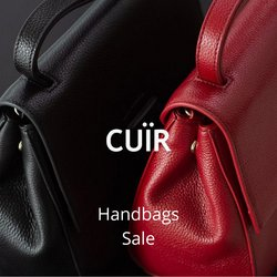 Clothes, shoes & accessories offers in Cuir Boutique catalogue ( 3 days left)