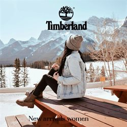 Timberland offers in Timberland catalogue ( More than a month)