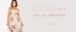 Offers from Sally Fashion in the Kuala Lumpur leaflet