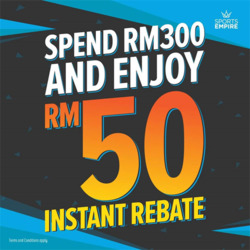 Offers from SportsEmpire in the Kuala Lumpur leaflet