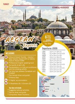 Travel offers in the CIT Travel catalogue ( More than a month )