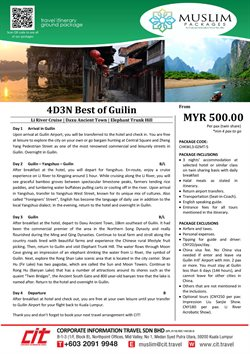 CIT Travel offers in CIT Travel catalogue ( More than a month)