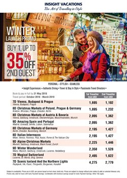 Offers from CIT Travel in the Kuala Lumpur leaflet