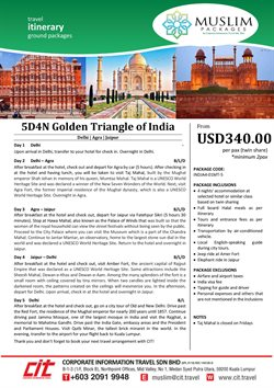 Travel offers in the CIT Travel catalogue in Kuala Lumpur