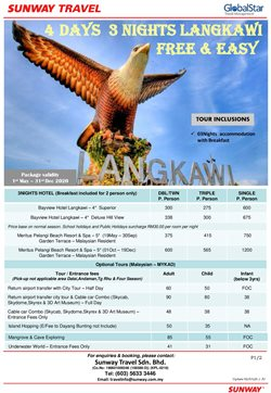 Sunway Travel offers in Sunway Travel catalogue ( More than a month)