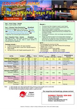 Travel offers in the Sunway Travel catalogue in Kuala Lumpur