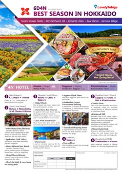Travel offers in the YL Travel catalogue in Kuala Lumpur